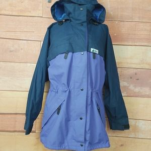 Vintage Gore-tex MEC jacket women's large